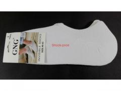 Skarpety mikrostopki rozm. 40-43 białe