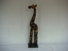 Żyrafa drewniana