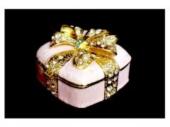 Pudełko dekoracyjne + cyrkonia 10097