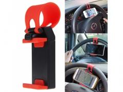 Uchwyt na kierownice na telefon samochodowy
