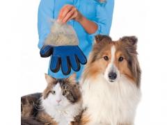 Oryginalna rękawica do wyczesywania zwierząt