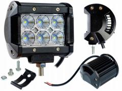 LAMPA ROBOCZA 6 LED HALOGEN DIODA 18W 12-24V