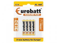 Baterie lr03 alkaline plus aaa - lr3-bp4