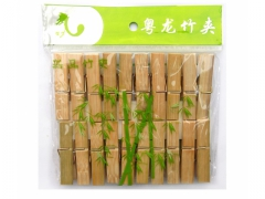 Klamerki spinacze bambusowe zestaw 20 szt