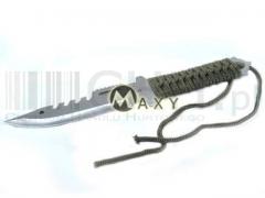 Nóż Saber gładki jednostronny - rzutka - g