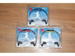 Słuchawki bezprzewodowe FM/ MP3
