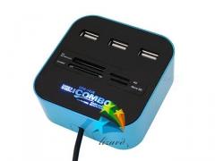 CZYTNIK KART ROZDZIELACZ HUB USB MIRO SD SDHC 62cm