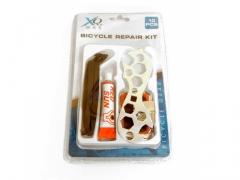 Zestaw naprawczy do roweru klucz łatki łyżki