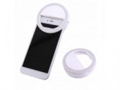 LAMPA SELFIE PIERŚCIENIOWA DO TELEFONU USB LED