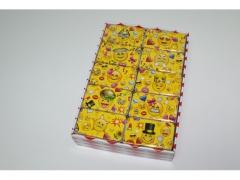Pudełko metalowe na pakiety 6613 EMOTIKONKI