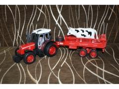 Traktor z przyczepą i zwierzakiem 40893