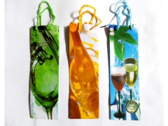 Torebka na butelkę prezent alkohol duża 33cm