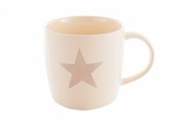 Gwiazda kubek duży kremowy kk111
