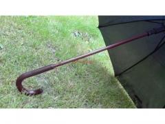 Parasol automat długi drewniana rączka WELMAX