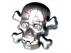 przeraźliwa czaszka 666