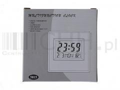 Zegar LCD z termometrem