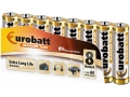 Baterie Alkaline Plus LR6 EUROBATT 8szt w shrinku