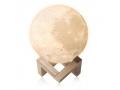 LAMPKA NOCNA ŚWIECĄCY KSIĘŻYC 3D MOON LIGH