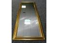 Lustro 30x90 złota rama