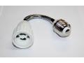 Adapter / złodziejka na żarówkę E27-GU10