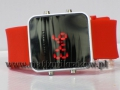 ZEGAREK LED WATCH 588-589 SILICON RED