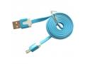 Kabel USB Płaski 1 m