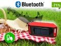 !! SOLARNY Głośnik Bluetooth Przenośny MP3 USB SD
