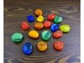 Kamyki kolorowe dekoracyjne 370g kamień