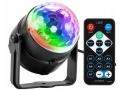 KULA disco PROJEKTOR REFLEKTOR DYSKOTEKOWY LED RGB