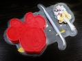 Forma wyciskana Myszka Minne Disney + dodatki