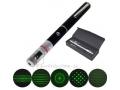 Zielony laser prezenter 100mW + końcówka disco