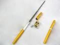 Wędka długopis z kołowrotkiem na lód