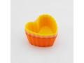 Foremki do babeczek silikonowe serca muffinek 6szt