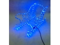 Sanki mikołaja led niebieski kolor cm 56x30x30wys