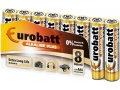 Baterie Alkaline Plus LR3 EUROBATT 8szt w shrinku
