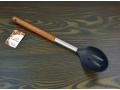 Łyżka kuchenna ażurowa drewno rączka 34cm