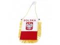 Flaga Polski proporczyk Polska zawieszka na szybe