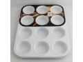 Forma muffin z powłoką ceramiczną 12szt głęboka
