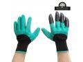 Rękawice ogrodowe rękawiczki grabie 2szt PAZURY