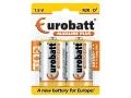 Baterie Alkaline Plus LR20 EUROBATT 2szt