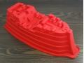 Forma silikonowa statek 35x16x10