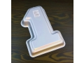 Forma aluminiowa do pieczenia jedynka 19x28cm