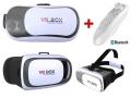 GOGLE OKULARY WIZUALNE 3D VR BOX 2.0 + PILOT