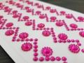 Naklejki dekoracyjne szlaczek z kwiatkiem