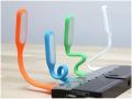 MOCNA Lampka USB do laptopa PC ELASTYCZNA LED