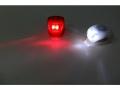 kpl.Oświetlenie rowerowe silikon LED 2 lampki