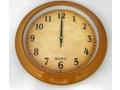Zegar ścienny wskazówkowy pływający 30cm