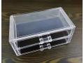 Akrylowy stojak szufladki na kosmetyki 19x9x10cm