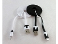 Kabel USB micro USB ładowarka płaski kabel 2m