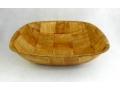 Miska bambusowa kwadrat 30cm